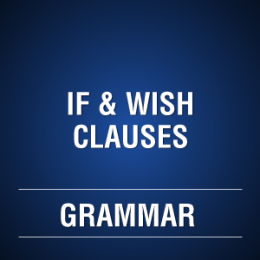 IF & WISH CLAUSES